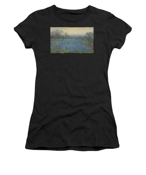 Field Of Bluebonnets Women's T-Shirt