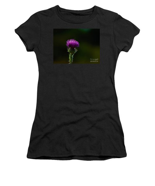 Field Thistle Women's T-Shirt (Athletic Fit)