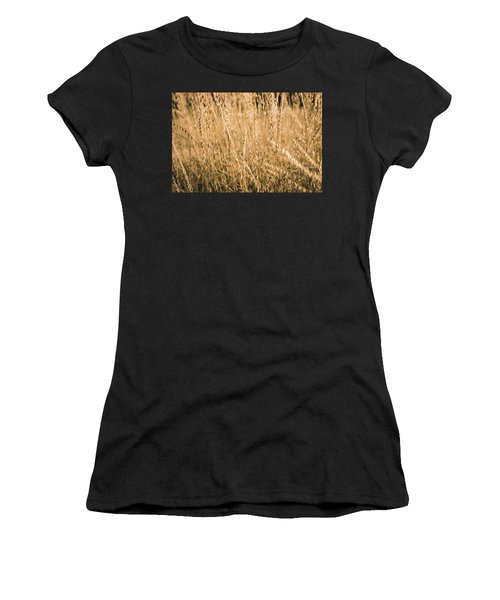 Women's T-Shirt featuring the photograph Fields Of Gold by Allin Sorenson