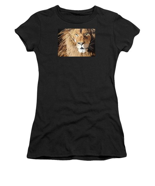 Fierce Protector Women's T-Shirt (Junior Cut) by Nathan Rhoads