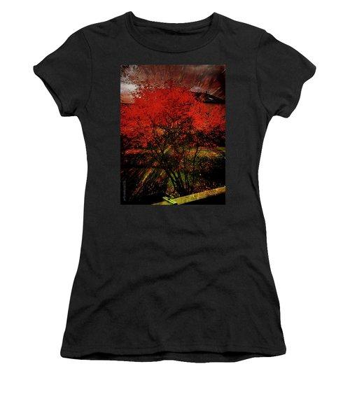 Fiery Dance Women's T-Shirt (Athletic Fit)
