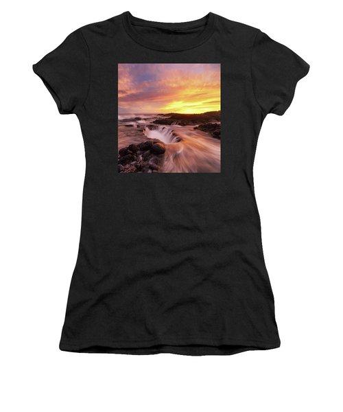 Fiery Sunset Women's T-Shirt