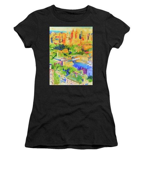 Fifth Avenue Shadows Over The Metropolitan Women's T-Shirt