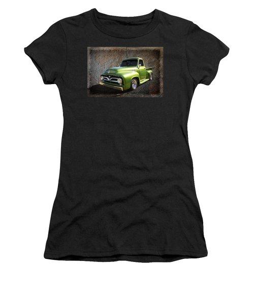 Fifties Pickup Women's T-Shirt (Junior Cut) by Keith Hawley