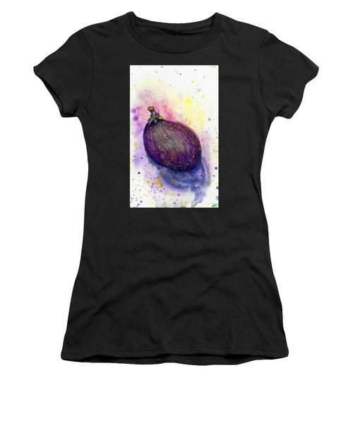 Women's T-Shirt featuring the painting Fig by Ashley Kujan
