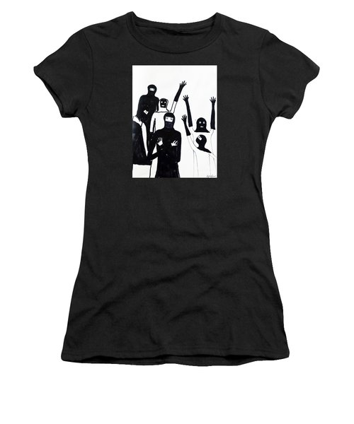 Final Call Women's T-Shirt (Junior Cut) by Lyric Lucas