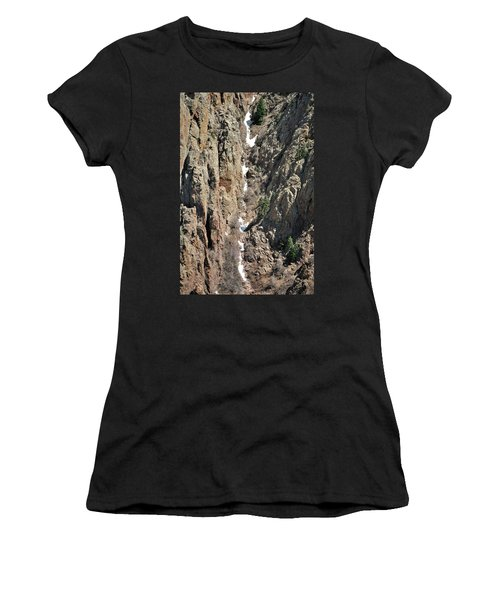 Final Traces Of Snow Women's T-Shirt