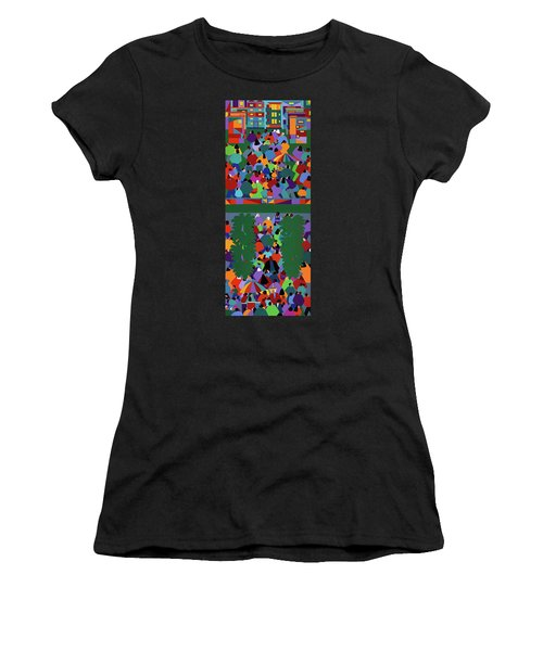 We The People Diptych Women's T-Shirt (Athletic Fit)