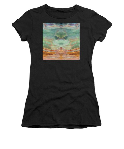 Finding Peace Women's T-Shirt (Junior Cut) by Ann Tracy
