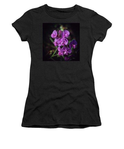 Fine Flower Arrangement Women's T-Shirt (Athletic Fit)