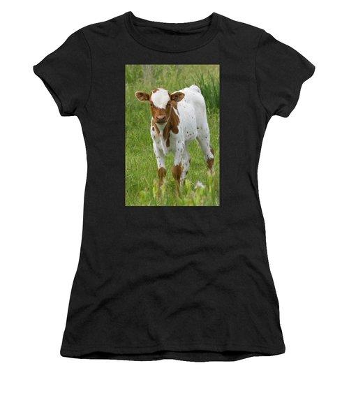 Fine Looking Longhorn Calf Women's T-Shirt
