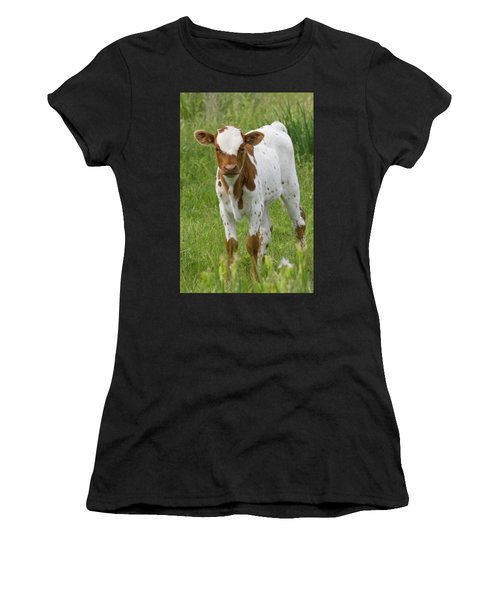 Fine Looking Longhorn Calf Women's T-Shirt