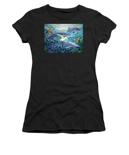 Fins And Flippers Women's T-Shirt