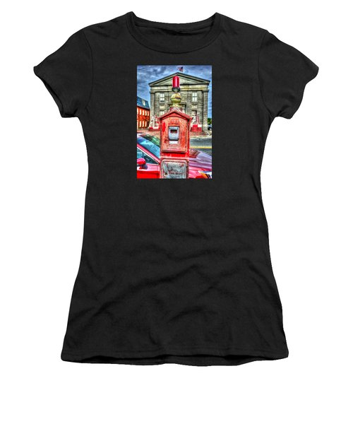 Fire Alarm Box 375 In Painterly Women's T-Shirt
