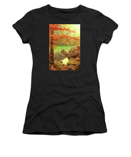 Fire And Water Women's T-Shirt (Athletic Fit)