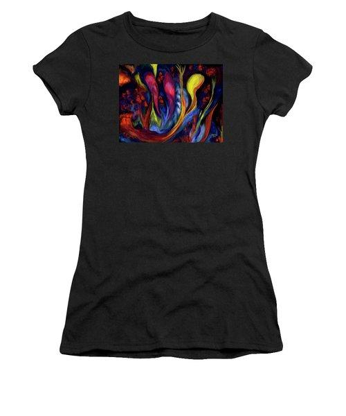 Fire Flowers Women's T-Shirt