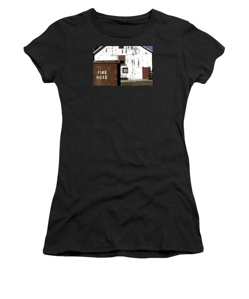 Fire Hose Women's T-Shirt (Athletic Fit)
