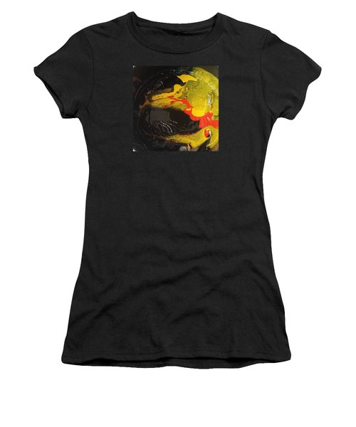 Fire In Soot Women's T-Shirt (Athletic Fit)