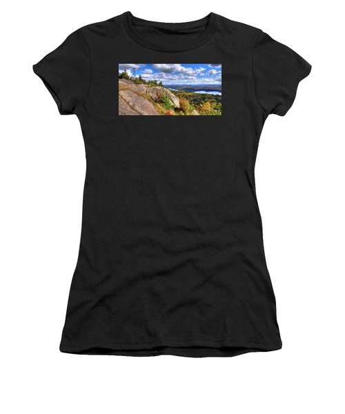 Fire Tower On Bald Mountain Women's T-Shirt (Athletic Fit)