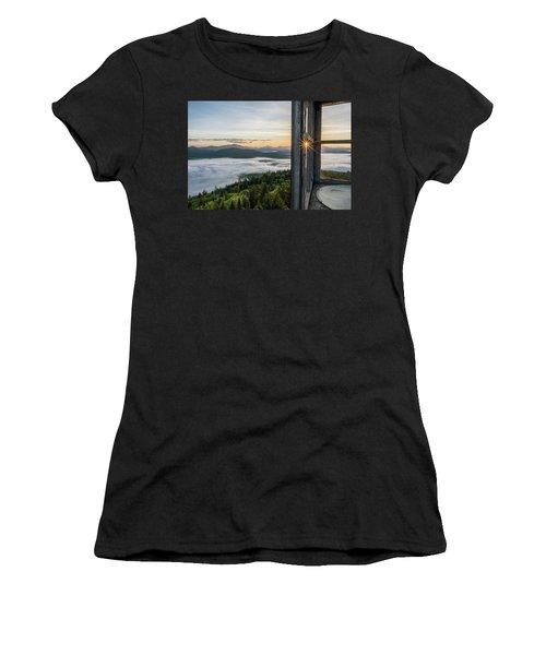 Fire Tower Sunburst Women's T-Shirt