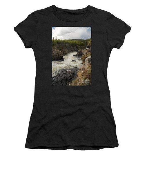 Firehole River Cascade Women's T-Shirt