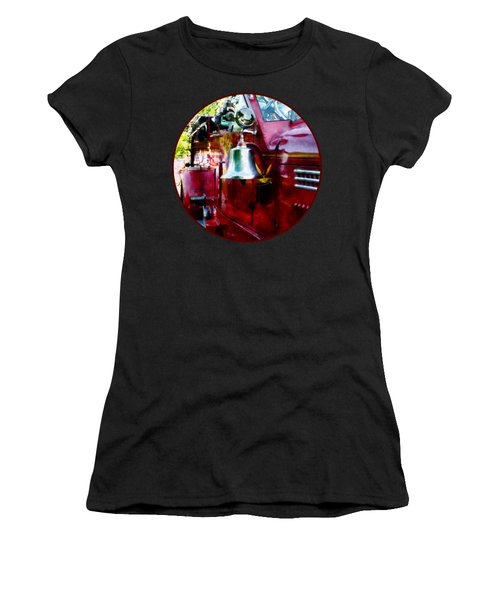 Fireman - Bell On Fire Engine Women's T-Shirt