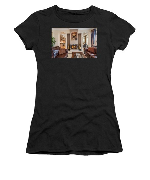 Fireplace Women's T-Shirt