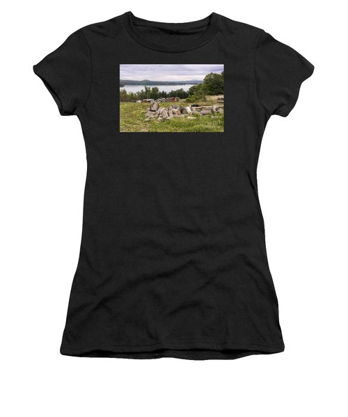 Firewood And Ice Houses Women's T-Shirt