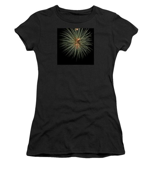 Fireworks 3 Women's T-Shirt (Athletic Fit)