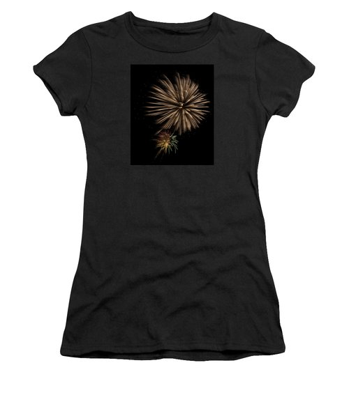 Fireworks 4 Women's T-Shirt (Athletic Fit)