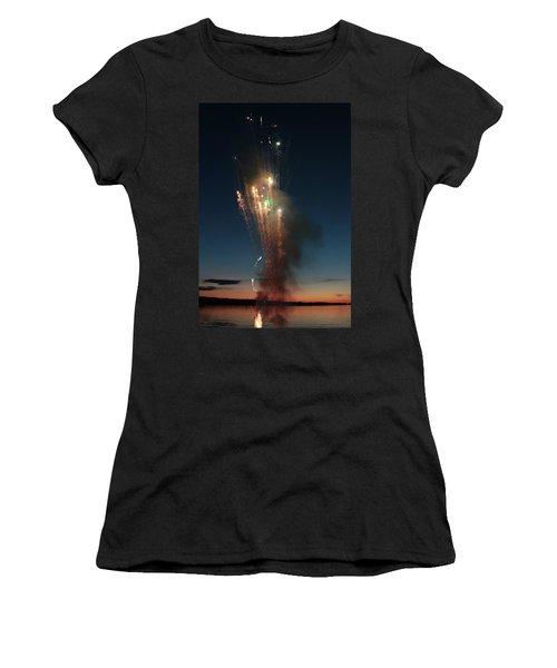 Fireworks After Sunset Women's T-Shirt