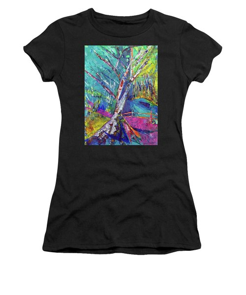 Firey Birch Women's T-Shirt