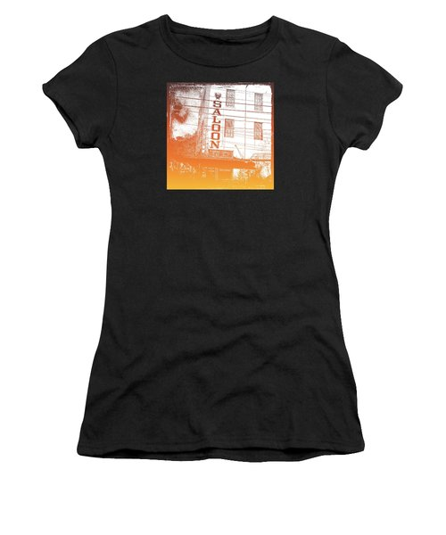 First Bar In Texas For A Woman Women's T-Shirt (Athletic Fit)