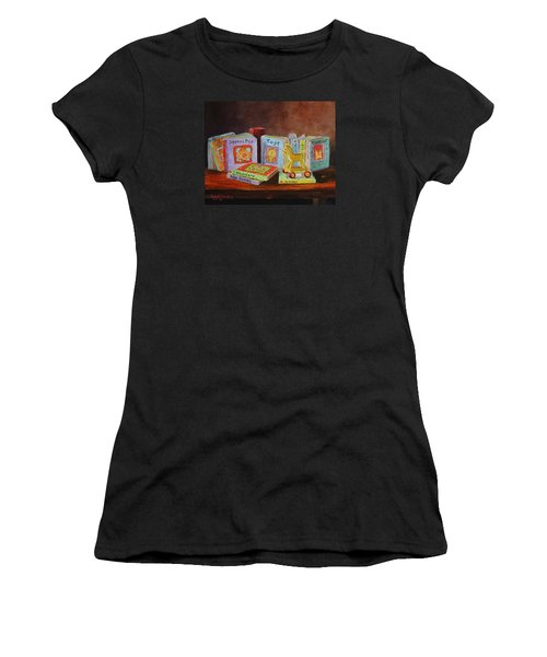 First Books Women's T-Shirt (Athletic Fit)