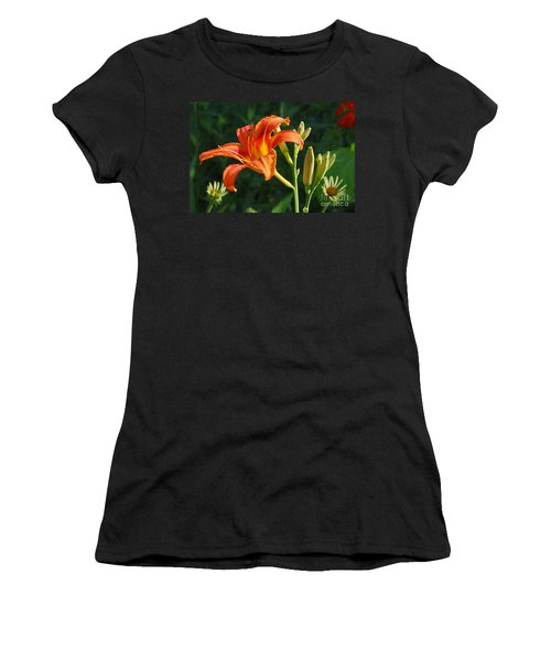 First Flower On This Lily Plant Women's T-Shirt