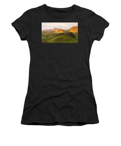 First Light On The Quairing  Women's T-Shirt