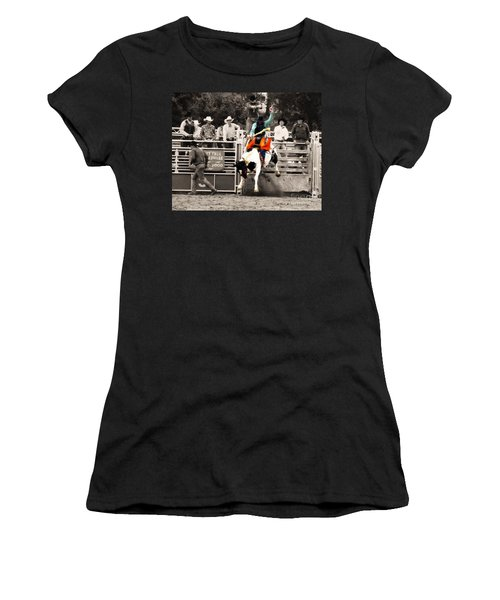 First Out Of The Chute Women's T-Shirt (Athletic Fit)