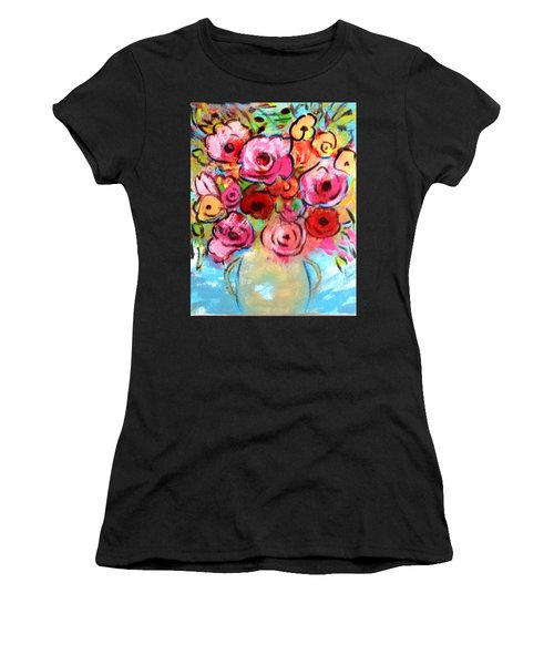 First Roses Of Summer Women's T-Shirt (Athletic Fit)