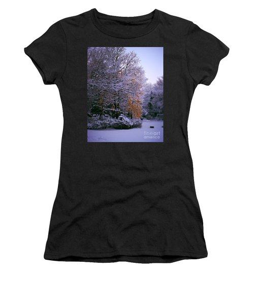 First Snow After Autumn Women's T-Shirt