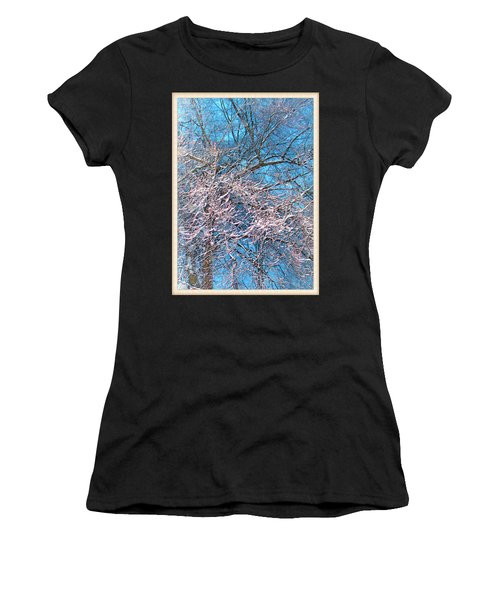 First Snow At Dawn Women's T-Shirt