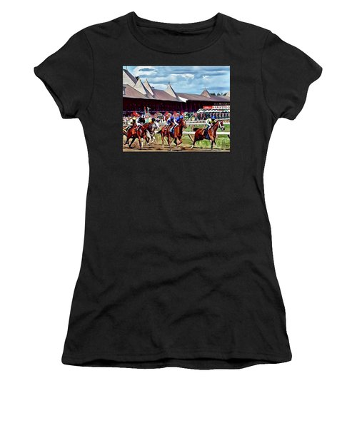 First Turn Saratoga Women's T-Shirt