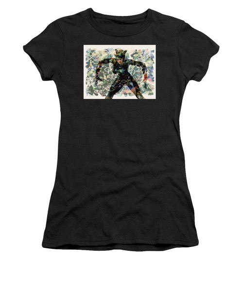 Fish And Kitty Women's T-Shirt (Athletic Fit)