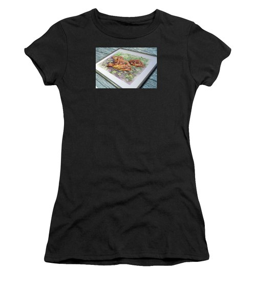 Fish Bowl 2 Women's T-Shirt (Athletic Fit)