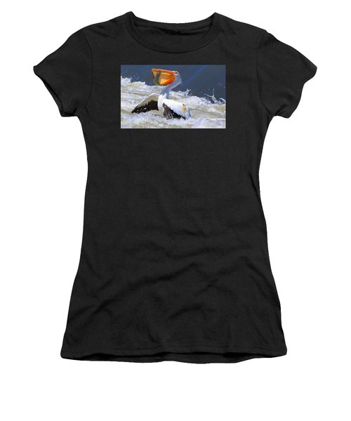 Fish For Dinner Women's T-Shirt (Athletic Fit)