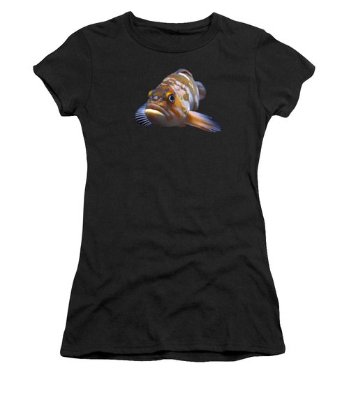 Fish - Transparent Women's T-Shirt (Athletic Fit)