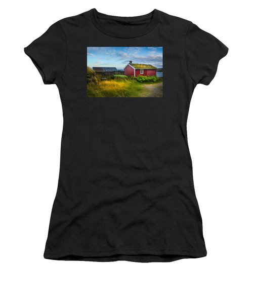 Fisherman House Women's T-Shirt (Athletic Fit)