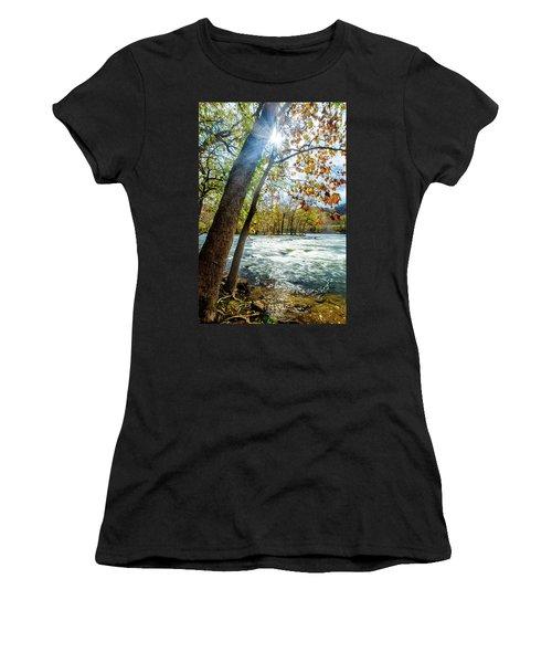 Fisherman's Paradise Women's T-Shirt (Athletic Fit)