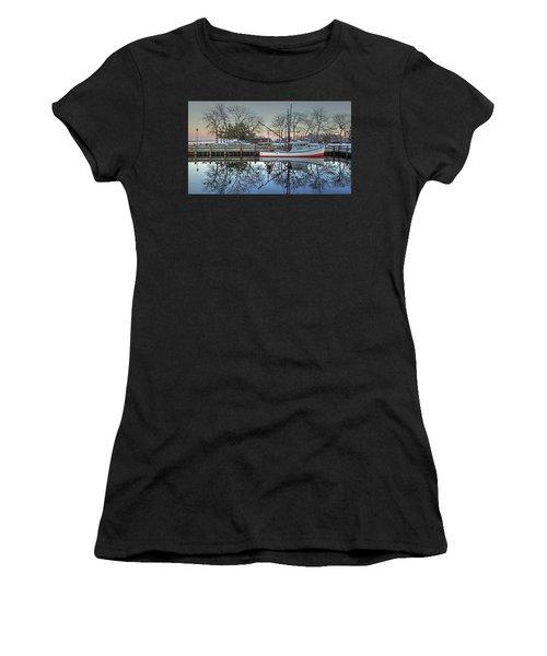 Fishing Boat At Newburyport Women's T-Shirt