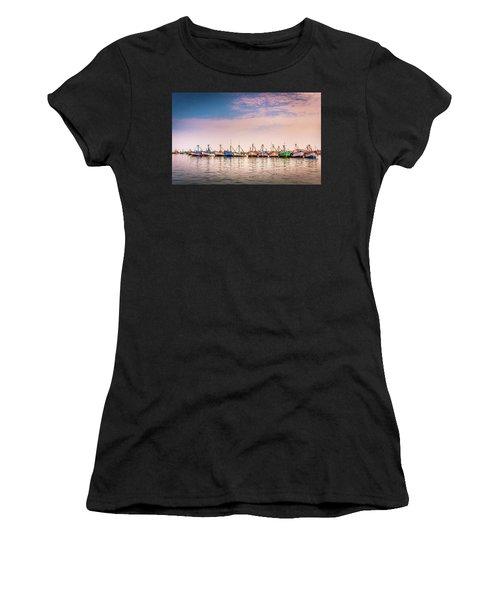 Fishing Boats Women's T-Shirt