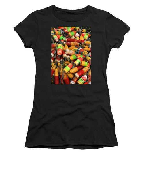 Fishing Buoys Women's T-Shirt